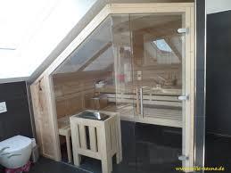Putz Im Badezimmer Ihre Sauna Unter Der Dachschräge Wir Konzipieren Ihre Sauna