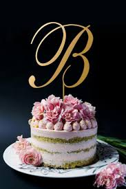 gold monogram cake toppers gold monogram cake toppers gold cake topper personalized
