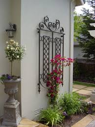 wall trellis design wall trellis traditional exterior san francisco by brians
