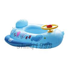 bouée siège pour bébé bouée siège gonflable pour bébé 1 3ans en forme de voiture de