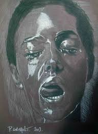 tableau portrait noir et blanc votre portrait par philippe cormault portraitiste artiste peintre