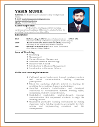 Resume Format Pdf For Experienced Teachers by Resume Format Pdf Resume For Your Job Application