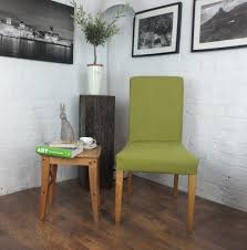 Lime Green Dining Room Dining Lime Green Cotton Dining Chairs With Solid Oak Wood Legs