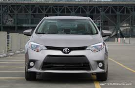2013 toyota corolla reviews and first drive review 2014 toyota corolla with video the truth