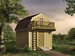sellersville shed with loft plan 002d 4514 house plans and more
