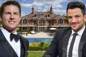 tom cruise mansion peter andre forks out 5million on tom cruise s luxury mansion