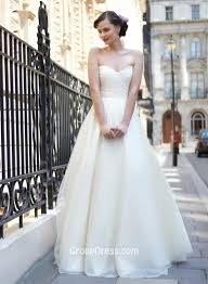 tulle wedding dress dot tulle strapless pleated sweetheart a line destination
