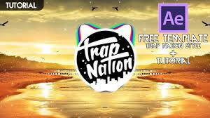 turorial free template audio spectrum trap nation style
