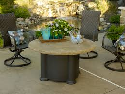 colonial fire pit table collection by outdoor great room best