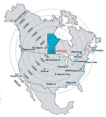 Chicago On Us Map by Visiting Winnipeg Peace Studies Conference Cmu