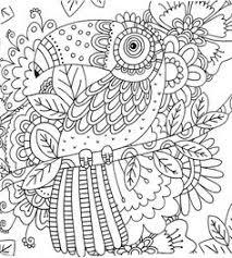 scandinavian coloring book pg 53 color pages stencils
