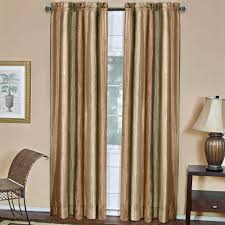 Multi Colored Curtains Drapes Achim Semi Opaque Ombre Earth Polyester Panel Curtain 50 In W X