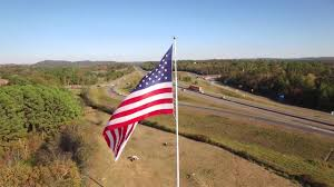Flag Pole Hill Alliance Rubber Company U0027s American Flag Youtube