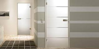 Modern Bathroom Door Glass Door In Bathroom And Toilet
