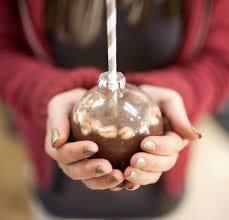 cocoa ornaments a subtle revelry