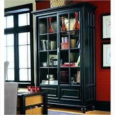 Modern Bookcases With Doors Black Bookcases Black Modern Bookcase Rhea Modern Bookcase