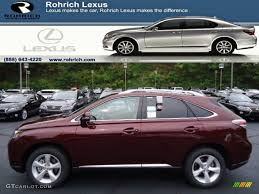 lexus red rx 350 for sale 2013 claret red mica lexus rx 350 awd 71914721 gtcarlot com