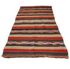 Tunisian Rug Modernist Tunisian Rug Or Wall Hanging Kilim Gafsa For Sale At