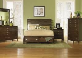 Formal Bedroom Furniture by Rustic Espresso Finish Stylish Bed W Optional Storage Footboard