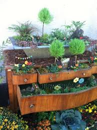 112 best fantasy gardens fairy container gardens images on
