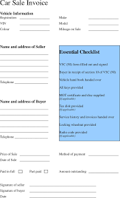 vehicle purchase agreement form free download business receipt