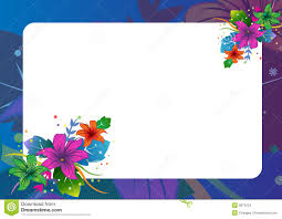 Border Designs For Birthday Cards Floral Border Stock Images Image 9872234