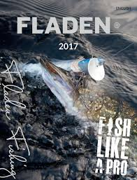 fladen 2017 catalogue by fladen fishing issuu