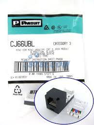 panduit rj11 wiring diagram panduit wiring diagrams