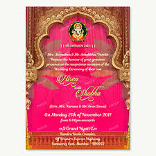 hindu wedding invitaions digital hindu wedding invitations