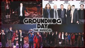 groundhog opening night broadway playbill