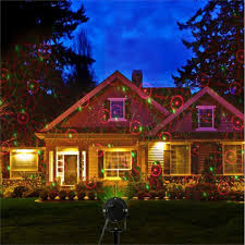 Christmas Lights Projector On House by Ip65 Waterproof Led Christmas Lights Laser Star Projector Lamp For