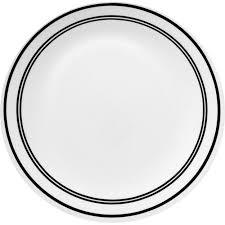 corelle livingware 6 dinner plate classic cafe black