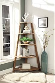 Corner Ladder Bookcase New Home Deal 5 Tier Corner Ladder Display Bookshelf