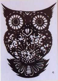 owl paper cut out time lapse video waiting for the dawn the