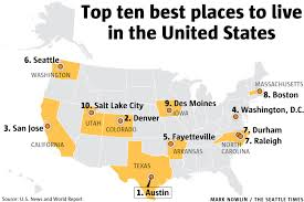 cheapest cities to live in the world seattle no 6 in new ranking of best places to live in u s the