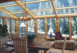 solarium sunroom glass roofed sun room or solarium with wood interior