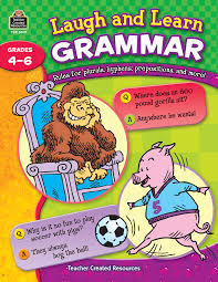 laugh and learn grammar tcr3019 teacher created resources
