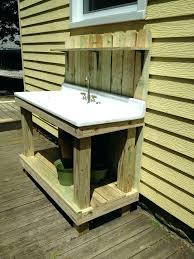 Garden Sink Ideas Outdoor Garden Workstation Garden Sink Station Credible Outdoor
