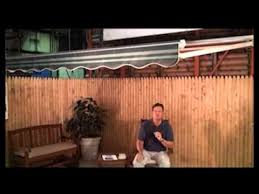 Vista Awnings Sunsetter Vista Awning Youtube
