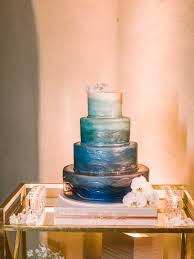 6 delicious ombré wedding cake styles for your reception inside