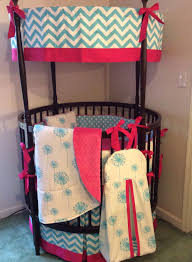 Pink And Teal Crib Bedding by A Personal Favorite From My Etsy Shop Https Www Etsy Com Listing