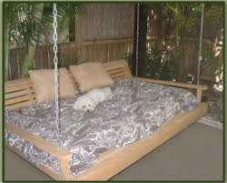 cypress porch swing bed 6 ft with heavy duty 10ft galvanized chain set