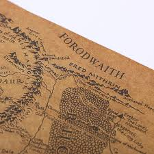 map of the lord of the rings vintage lord of the rings middle earth map lotr my deal zilla