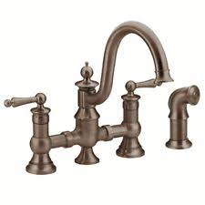 moen bronze kitchen faucets moen bronze kitchen faucets ebay