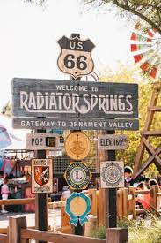map of route 66 radiator springs search adventure