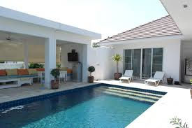 u shaped private pool home for sale in hua hin thaivisa property
