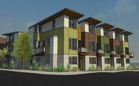 townhome plans developers plan 20 townhome condo project for sellwood moreland