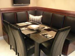 corner dining table leather furniture marble room and chair sets
