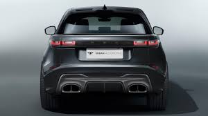 range rover back range rover velar svr will arrive with distinctive styling package