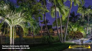 landscape lighting plantation illumination fl